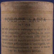 Antigüedades: ANTIGUA CAJA DE POLVOS. POUDRE LACTA Nº 53. Lote 187307457