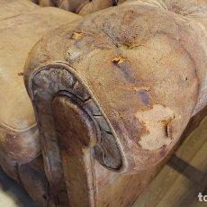 Antigüedades: SOFÁ CHESTER 2 PLAZAS. Lote 187308818
