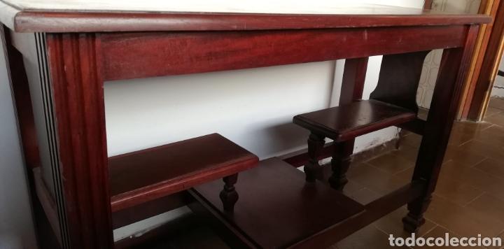 Antigüedades: Mesa Auxiliar de madera en estilo Art Deco - Foto 2 - 187311031