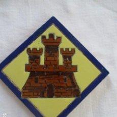 Antigüedades: AZULEJO HERALDICO RAMOS REJANO. Lote 187320897
