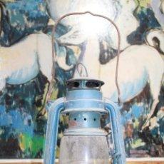 Antigüedades: LAMPARA DE ACIETE O PETROLIO SHANGAI CHINA KWAN 28 CM DE ALTO. Lote 187326140
