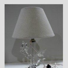 Antigüedades: MURANO, PRECIOSA LAMPARITA DE SOBREMESA. Lote 187370011