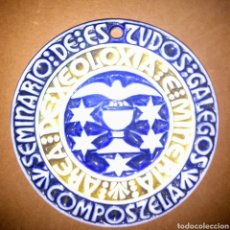 Antigüedades: MEDALLA DE CONSTITUCIÓN DO SEMINARIO DE ESTUDOS GALEGOS. NOVEMBRO 1979 AREA XEOLOXÍA E MINERÍA. Lote 187373996