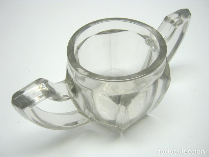 Antigüedades: antiguo cristal art deco años 30 - Foto 2 - 187382716