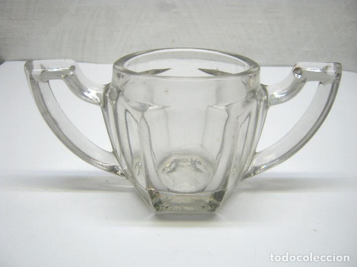 Antigüedades: antiguo cristal art deco años 30 - Foto 4 - 187382716