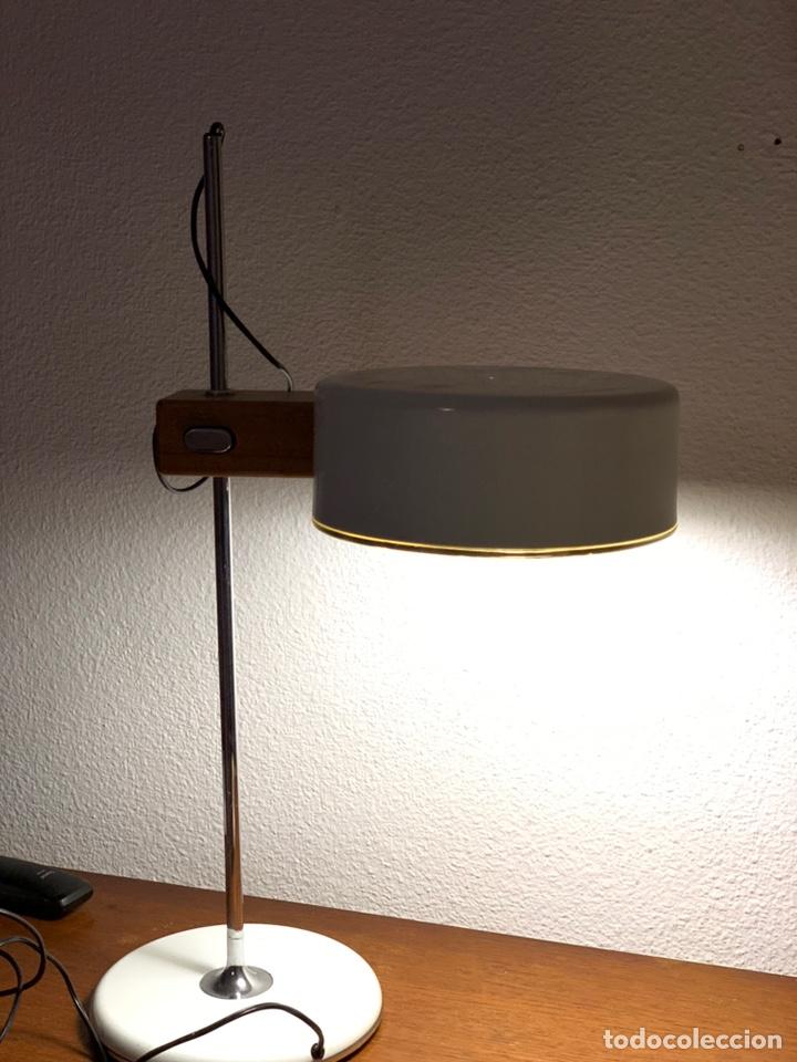 LÁMPARA VINTAGE FASE FLASH (Antigüedades - Iluminación - Lámparas Antiguas)