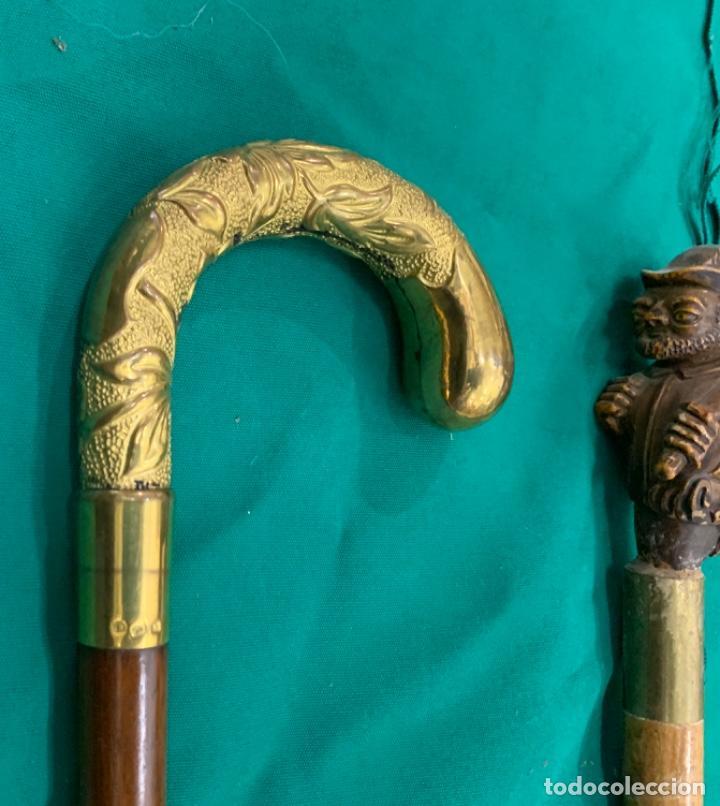 Antigüedades: Lote Completo Bastones Antiguos - Foto 9 - 187411697