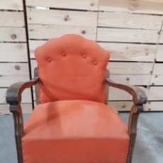 Antiguidades: DESCALZADORA SILLON ANTIGUO. Lote 187429805