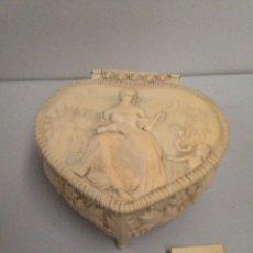 Antigüedades: ANTIGUA CAJA JOYERO. Lote 187432266