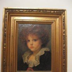 Antigüedades: DECORATIVO MARCO CON LAMINA BARNIZADA.. Lote 187454107