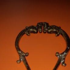 Antigüedades: TIJERAS EN BRONCE PARA EL CARBON PRINCIPIOS SXX. Lote 187461012