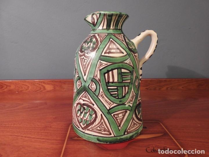 JARRA AÑOS 50 DOMINGO PUNTER 10 (Antigüedades - Porcelanas y Cerámicas - Teruel)