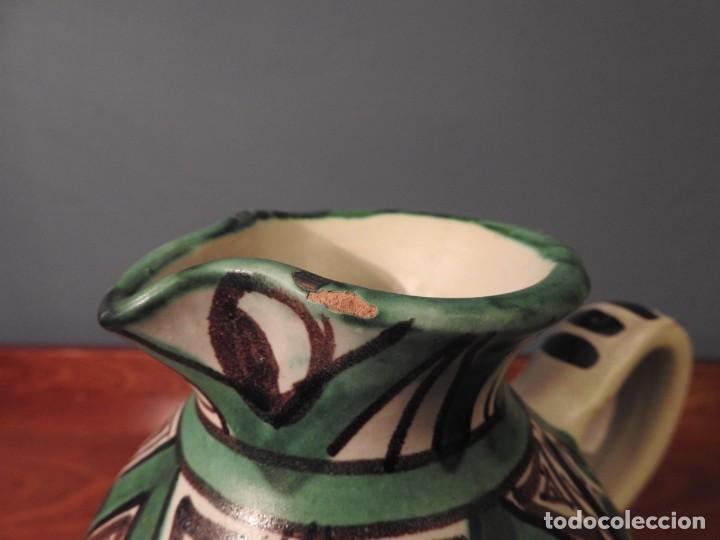 Antigüedades: JARRA AÑOS 50 DOMINGO PUNTER 10 - Foto 7 - 187467870