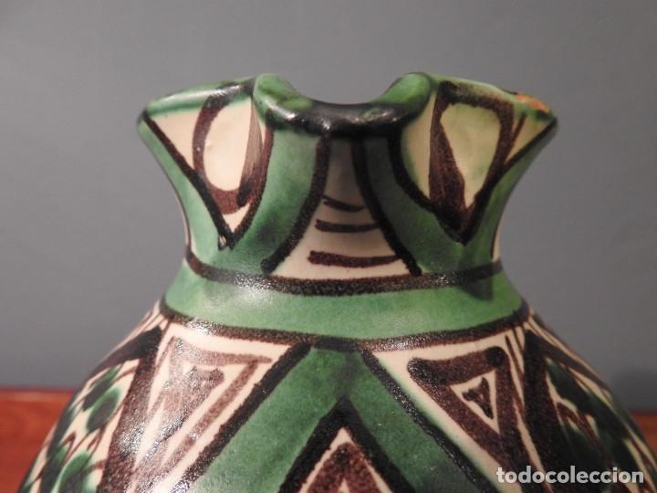 Antigüedades: JARRA AÑOS 50 DOMINGO PUNTER 10 - Foto 8 - 187467870