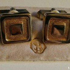 Antigüedades: GEMELOS DORADOS - AÑOS '70. Lote 40086623
