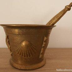 Antigüedades: MORTERO DE BRONCE . Lote 187485141