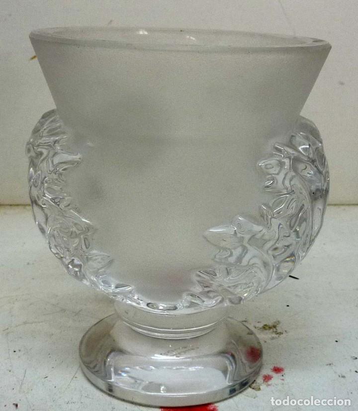 JARRON DE CRISTAL LALIQUE 12 CM (Antigüedades - Cristal y Vidrio - Lalique )