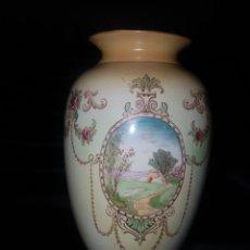 Antigüedades: PRECIOSO JARRÓN NUMERADO SONS RANFORD WAPE BURSLEM ENGLAND. Lote 187518761