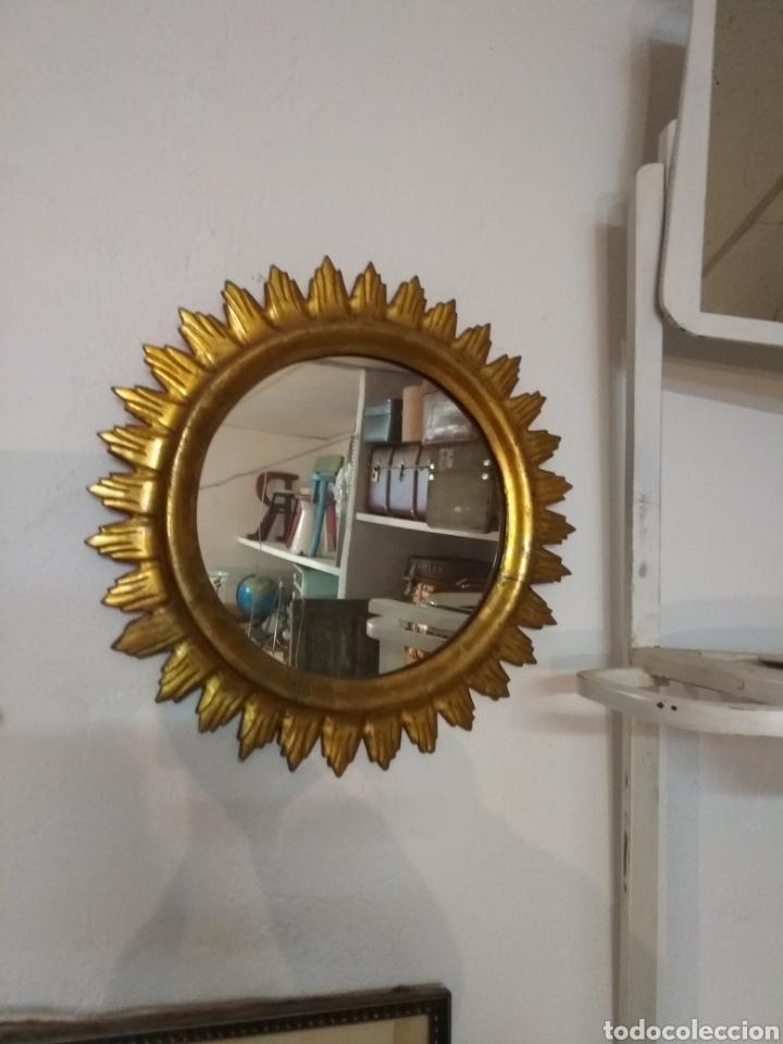 Antigüedades: ESPEJO DE MADERA - Foto 2 - 187521895