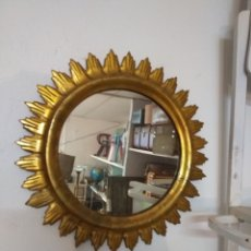 Antigüedades: ESPEJO DE MADERA. Lote 187521895