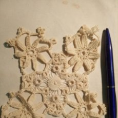 Antigüedades: ENCAJE DE BOLILLOS XIX. Lote 187534473