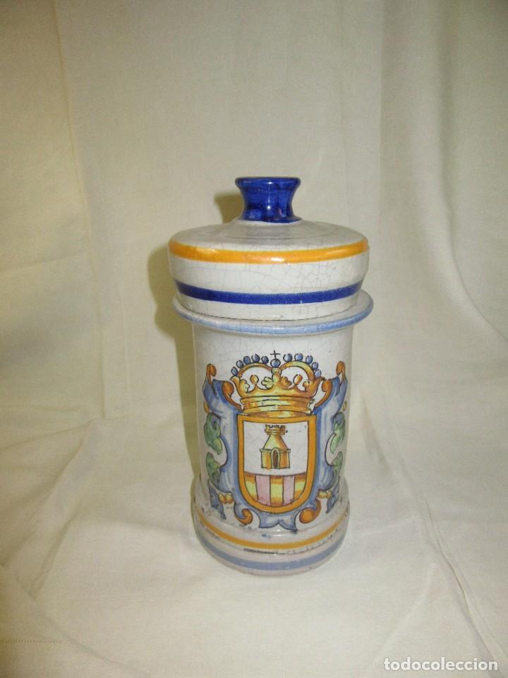 ALVARELO,,TARRO DE FARMACIA (Antigüedades - Porcelanas y Cerámicas - Otras)