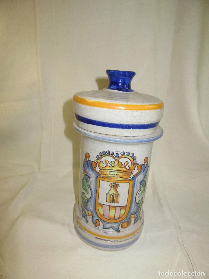 Antigüedades: ALVARELO,,TARRO DE FARMACIA - Foto 4 - 187589475
