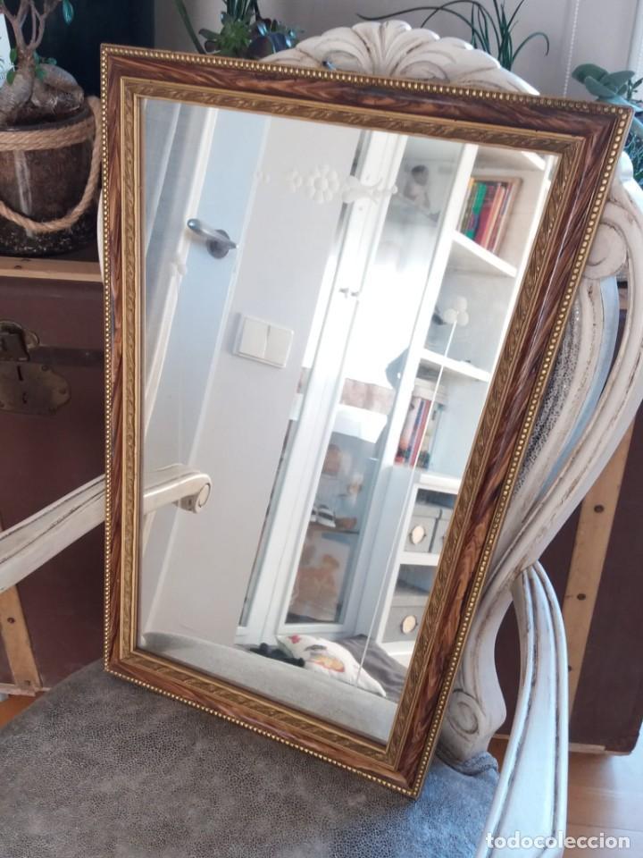Antigüedades: Espejo años 50 - Foto 3 - 187612282