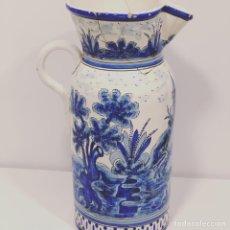 Antigüedades: JARRA DE CERÁMICA VALENCIANA FINALES S. XIX.. Lote 187631142