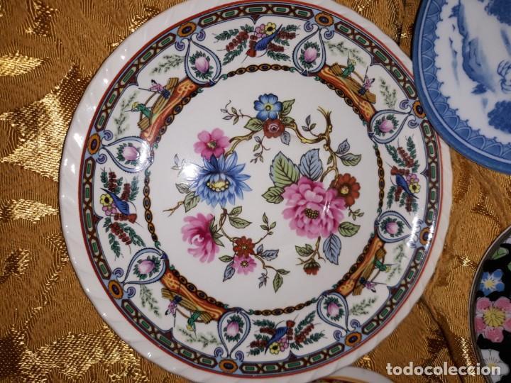 Antigüedades: Lote de platos Japon 9 platos - Foto 2 - 187633393