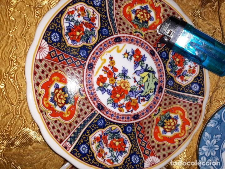 Antigüedades: Lote de platos Japon 9 platos - Foto 3 - 187633393