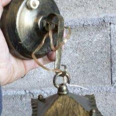 Antigüedades: FAROL DE CHAPA. Lote 187637008