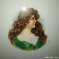 Antiguidades: ANTIGUA FUENTE DE PORCELANA PINTADA DE SAN JUAN DE AZNALFARACHE DEL SIGLO XIX. Lote 183342093