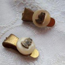 Antigüedades: GEMELOS ANTIGUOS. Lote 187891988