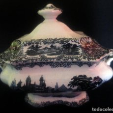 Antigüedades: SOPERA DE PORCELANA PICKMAN CON SELLO ANTIGUO. Lote 187975752