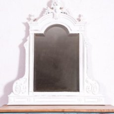 Antigüedades: ESPEJO ALFONSINO ANTIGUO RESTAURADO THIERRY. Lote 188290268