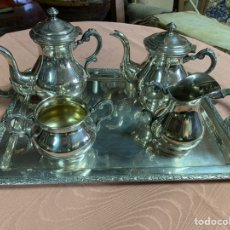 Antigüedades: JUEGO DE CAFÉ DE ALPSCA. Lote 188409123