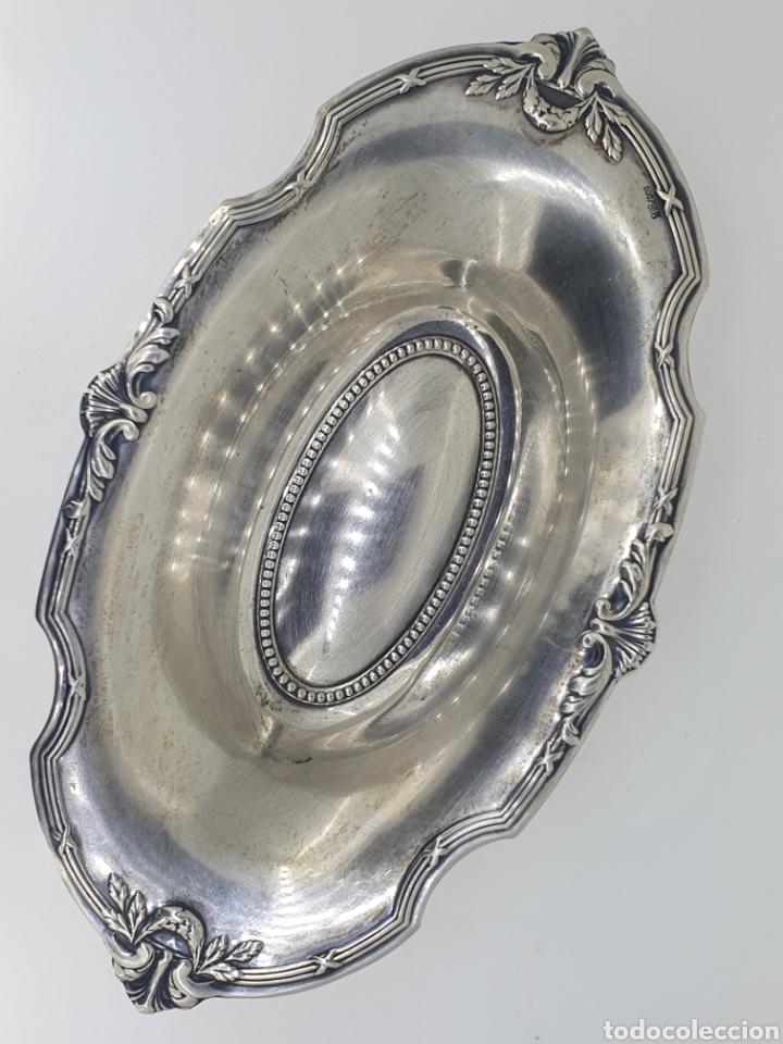 Antigüedades: Bandeja de plata siglo XIX - Foto 2 - 188438601