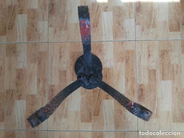 Antigüedades: Portavelas de pie Candelabro - Foto 9 - 188458031