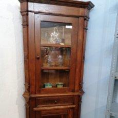 Antiguidades: RINCONERA DE ROBLE MACIZO EXTRAORDINARIA. Lote 188466031