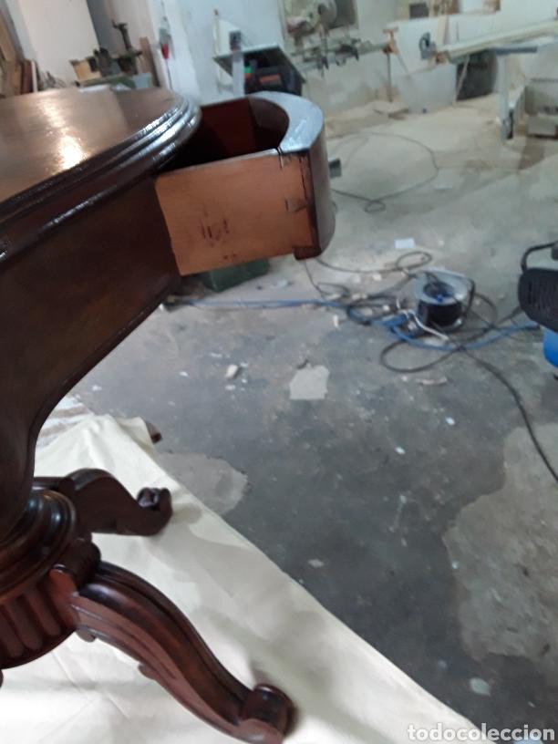 Antigüedades: Velador de nogal - Foto 8 - 188550970