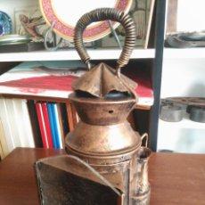 Antigüedades: ANTIGUO FAROL FERROVIARIO. Lote 188560555
