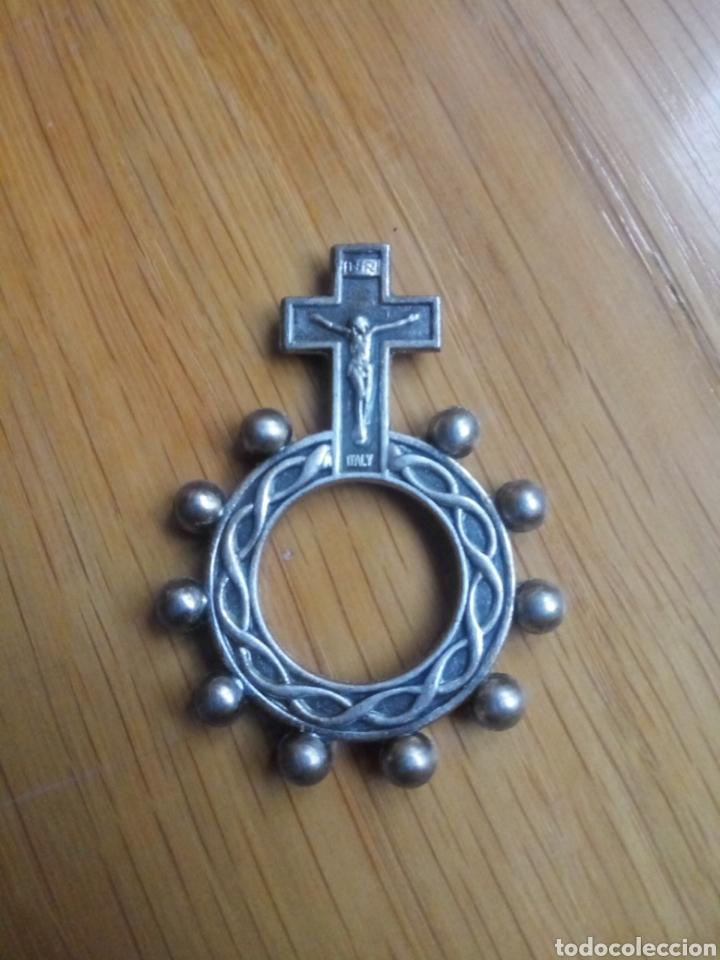 ROSARIO DE DEDO (Antigüedades - Religiosas - Rosarios Antiguos)