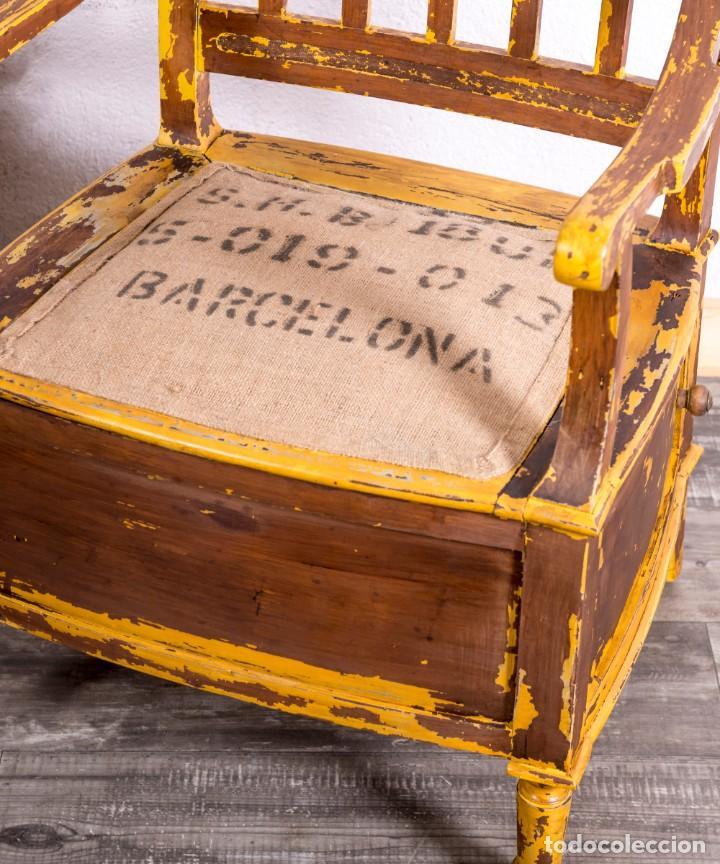 Antigüedades: Sillón Antiguo Restaurado - Foto 2 - 188587191