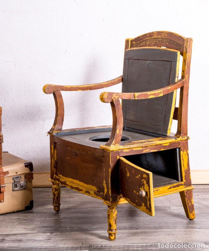 Antigüedades: Sillón Antiguo Restaurado - Foto 3 - 188587191