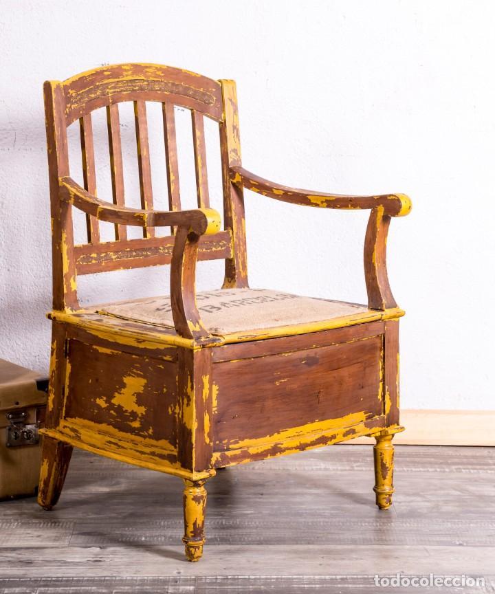 Antigüedades: Sillón Antiguo Restaurado - Foto 4 - 188587191