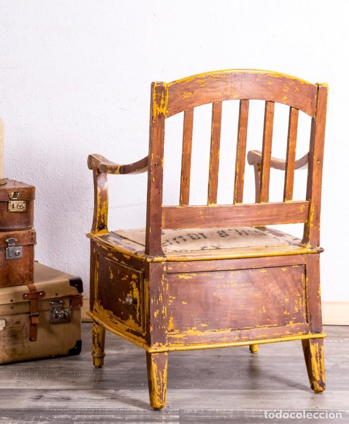 Antigüedades: Sillón Antiguo Restaurado - Foto 5 - 188587191