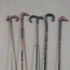Antigüedades: LOTE DE BASTONES DE INDIANO. Lote 188624178