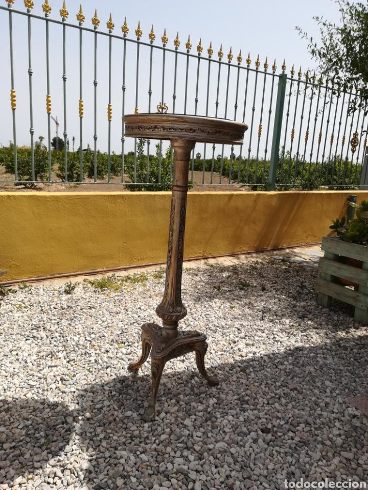 Antigüedades: Velador antiguo - Foto 2 - 188669205