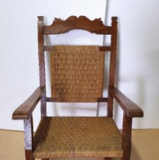 Antigüedades: ANTIGUA MECEDORA . Lote 188675100
